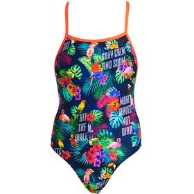 Funkita Tie Me Tight One Piece Swimsuit Ladies Tropic Tag